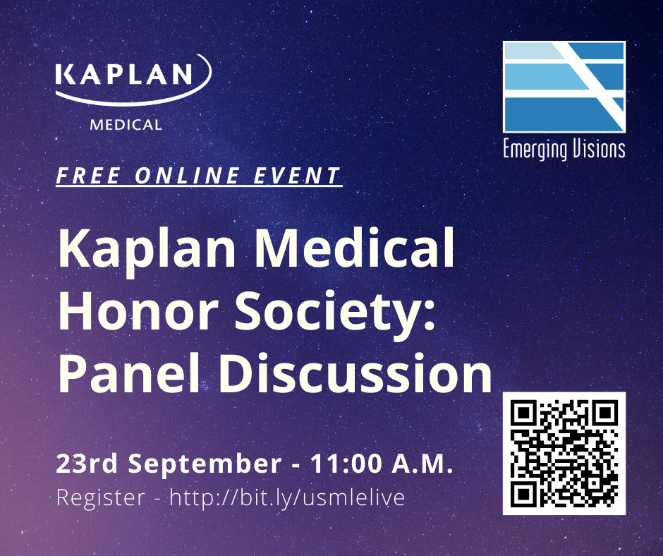 Kaplan Medical Honor Society: Panel Discussion