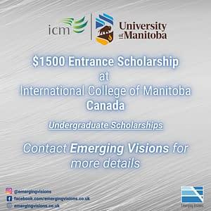 ICM Entrance Scholarship